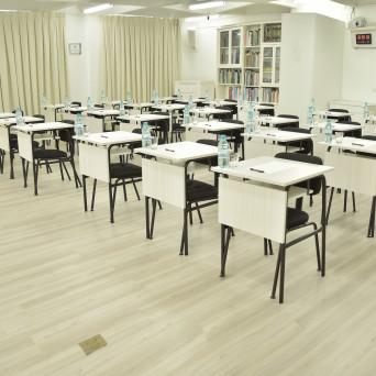 Sala de aula em formato Escolar